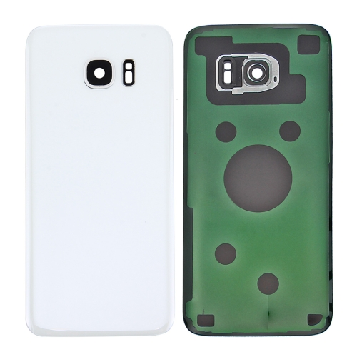 Buy iPartsBuy for Samsung Galaxy S7 Edge / G935 Original Battery Back Cover with Camera Lens Cover, White for $4.46 in SUNSKY store