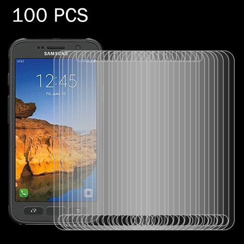 Buy 100 PCS For Samsung Galaxy S7 Active 0.26mm 9H Surface Hardness 2.5D Explosion-proof Tempered Glass Screen Film for $30.93 in SUNSKY store
