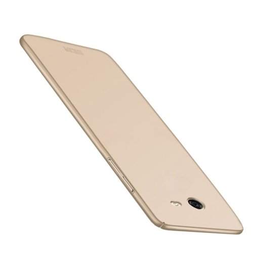 MOFI for Samsung Galaxy J5, 2017 / J520 (US Version) PC Ultra-thin Full Coverage Protective Back Cover Case, Gold