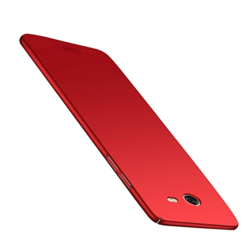 Buy MOFI for Samsung Galaxy J5, 2017 / J520 (US Version) PC Ultra-thin Full Coverage Protective Back Cover Case, Red for $3.19 in SUNSKY store