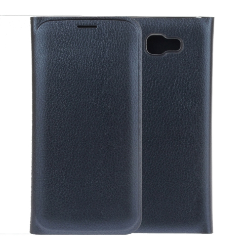 Buy For Samsung Galaxy A7, 2017 / A720 Pure Colour Horizontal Flip Leather Protective Case with Card Slot, Blue for $2.54 in SUNSKY store