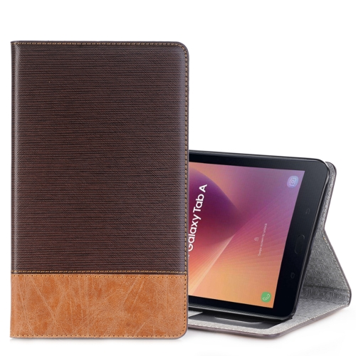Buy For Samsung Galaxy Tab A 8.0, 2017 / T385 Cross Texture Horizontal Flip Case Cover with Card Slots & Holder & Wallet, Coffee for $5.53 in SUNSKY store