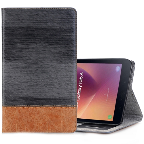 Buy For Samsung Galaxy Tab A 8.0, 2017 / T385 Cross Texture Horizontal Flip Case Cover with Card Slots & Holder & Wallet, Grey for $5.53 in SUNSKY store