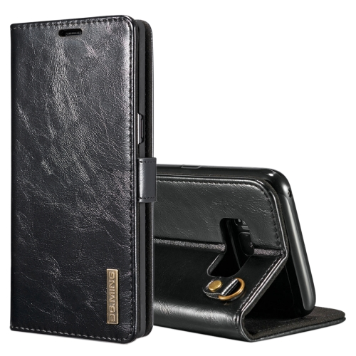 Buy DG.MING for Samsung Galaxy Note 8 Genuine Leather Horizontal Flip Detachable Magnetic Protective Case with Holder & Card Slots & Lanyard, Black for $7.31 in SUNSKY store
