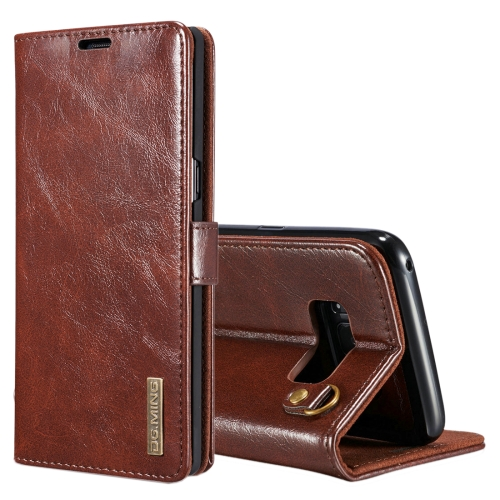 Buy DG.MING for Samsung Galaxy Note 8 Genuine Leather Horizontal Flip Detachable Magnetic Protective Case with Holder & Card Slots & Lanyard, Coffee for $7.31 in SUNSKY store