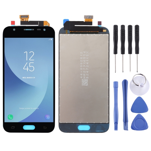 Original LCD Screen and Digitizer Full Assembly for Galaxy J3 (2017), J330F/DS, J330G/DS(Black)