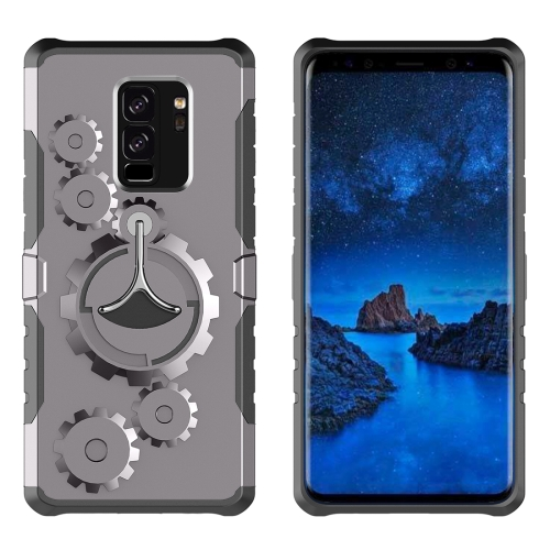 Buy For Samsung Galaxy S9+ Gearwheel Style Multi-function Outdoor Sports Protective Back Cover Case With 360 Degree Rotatable Holder & Armband, Grey for $4.47 in SUNSKY store