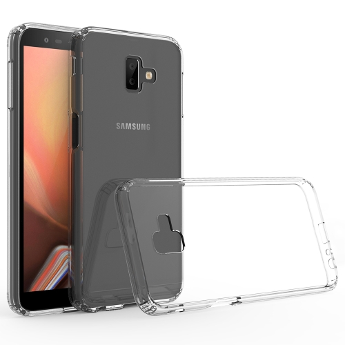 Scratchproof TPU + Acrylic Protective Case for Galaxy J6 Plus (Transparent)