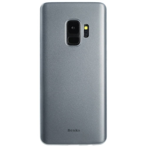 Buy Benks for Samsung Galaxy S9 PP Frosted Ultra-thin Protective Back Case Cover, White for $2.67 in SUNSKY store