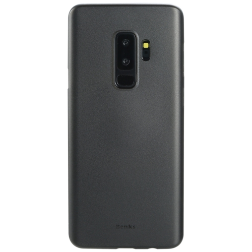 Buy Benks for Samsung Galaxy S9+ PP Frosted Ultra-thin Protective Back Case Cover, Black for $2.67 in SUNSKY store