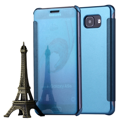 Buy For Samsung Galaxy A5, 2016 / A510 Horizontal Flip Leather Case with Sleep / Wake-up Function, Blue for $2.97 in SUNSKY store