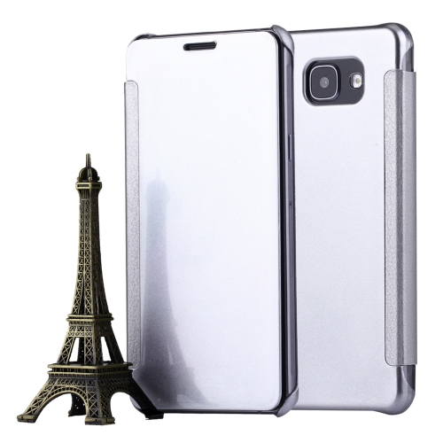 Buy For Samsung Galaxy A5, 2016 / A510 Horizontal Flip Leather Case with Sleep / Wake-up Function, Silver for $2.97 in SUNSKY store