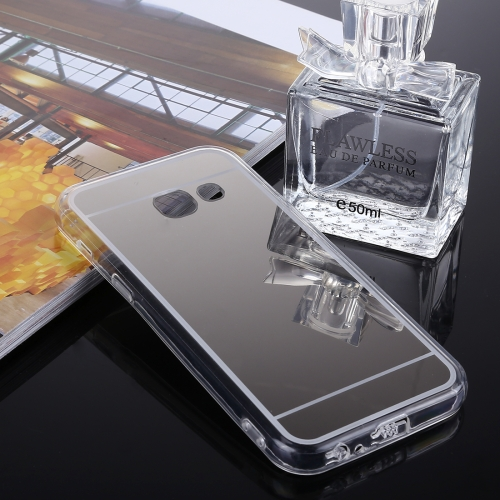 Buy For Samsung Galaxy J3 Prime Acrylic + TPU Electroplating Mirror Protective Back Cover Case, Silver for $1.27 in SUNSKY store