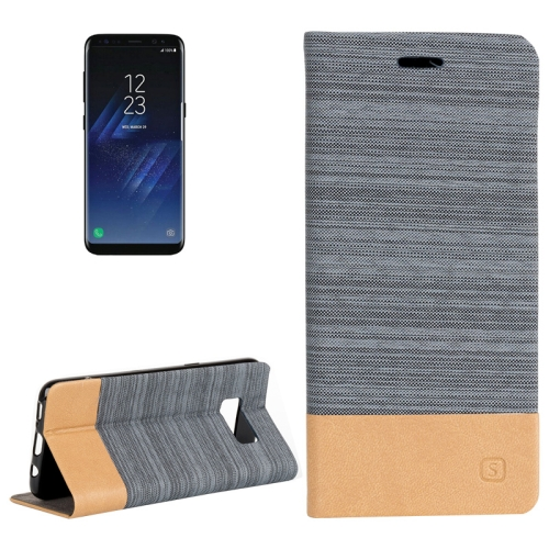 Buy For Samsung Galaxy S8 + / G955 Denim Texture Horizontal Flip Leather Case with Holder & Card Slots & Wallet (Baby Blue) for $2.40 in SUNSKY store