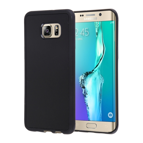 Buy For Samsung Galaxy S6 Edge+ / G928 Anti-Gravity Magical Nano-suction Technology Hybrid Sticky Selfie Protective Case, Black for $1.92 in SUNSKY store