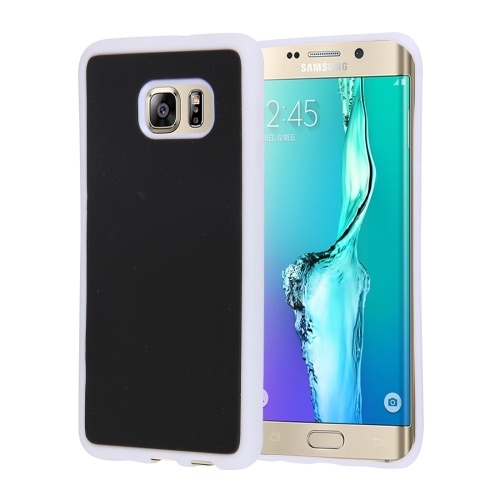 Buy For Samsung Galaxy S6 Edge+ / G928 Anti-Gravity Magical Nano-suction Technology Hybrid Sticky Selfie Protective Case, White for $1.92 in SUNSKY store