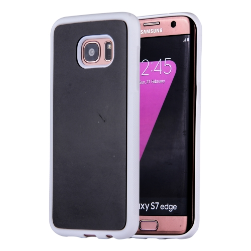 For Samsung Galaxy Note 5 / N920 Anti-Gravity Magical Nano-suction Technology Sticky Selfie Protective Case, White