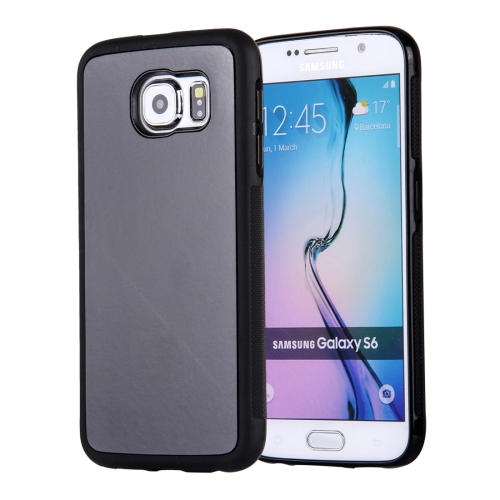 Buy For Samsung Galaxy S6/G920 Anti-Gravity Magical Nano-suction Technology Sticky Selfie Protective Case, Black for $1.92 in SUNSKY store