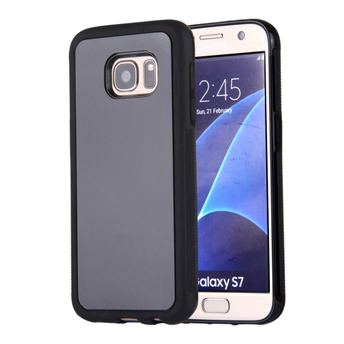 Buy For Samsung Galaxy S7/G930 Anti-Gravity Magical Nano-suction Technology Sticky Selfie Protective Case, Black for $1.92 in SUNSKY store