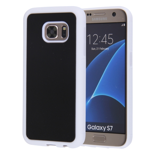 Buy For Samsung Galaxy S7 / BG930 Anti-Gravity Magical Nano-suction Technology Sticky Selfie Protective Case, White for $1.92 in SUNSKY store