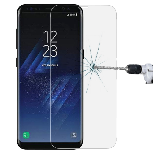 Full Screen Tempered Glass Screen Protector For Galaxy S8(Transparent)