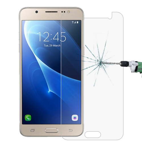 For Galaxy J5 (2016) / J510 0.26mm 9H Surface Hardness 2.5D Explosion-proof Tempered Glass Screen Film