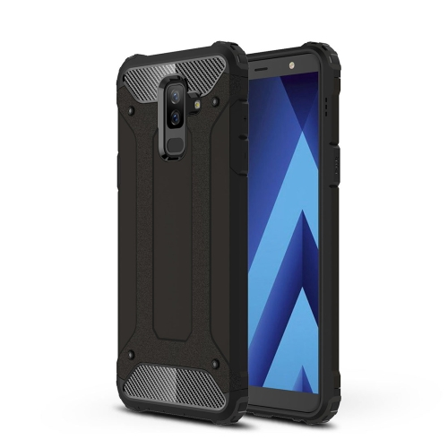 Magic Armor TPU + PC Combination Case for Galaxy A6+ (2018)(Black)