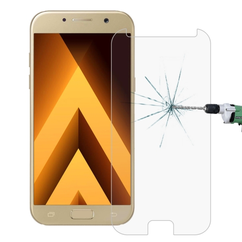 For Galaxy A5 (2017) / A520 0.26mm 9H Surface Hardness 2.5D Explosion-proof Tempered Glass Non-full Screen Film