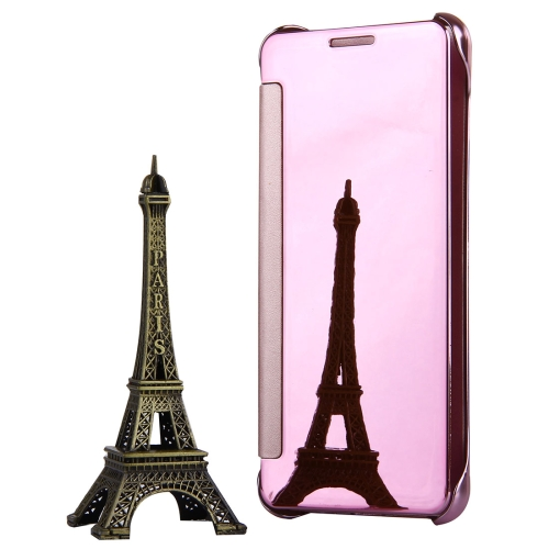 Buy For Samsung Galaxy A7, 2016 / A710 Plating Mirror Horizontal Flip Leather Case with Sleep / Wake-up Function, Pink for $3.19 in SUNSKY store