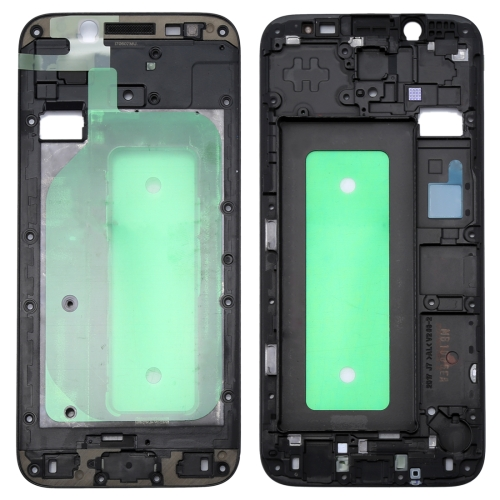 Galaxy J730 Front Housing LCD Frame Bezel Plate(Black)