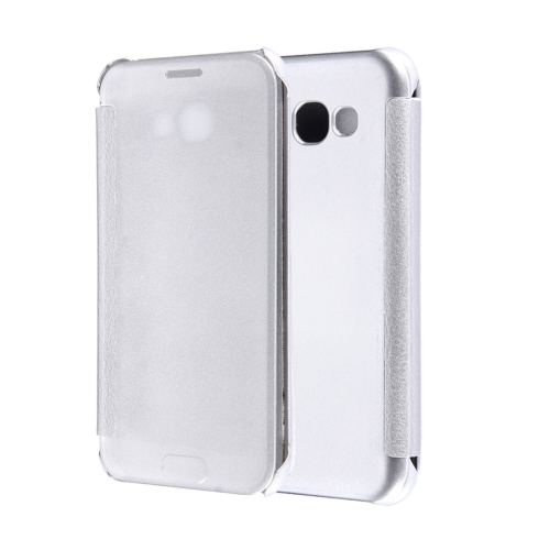 Buy For Samsung Galaxy A5, 2017 / A520 High Transparency Horizontal Flip Leather Case with Sleep / Wake-up Function, Silver for $2.84 in SUNSKY store
