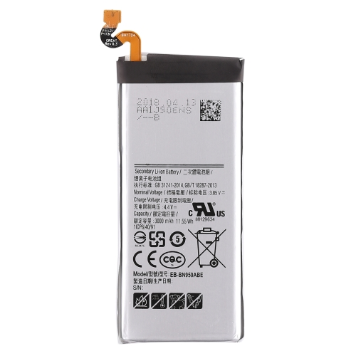 3.85V 3000mAh Rechargeable Li-ion Battery for Galaxy Note8