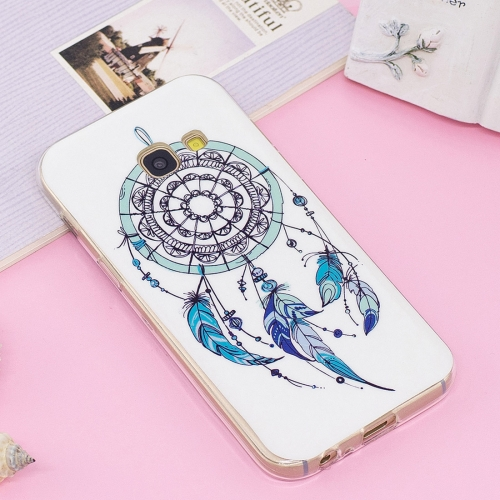 Buy For Samsung Galaxy A5, 2017 Noctilucent IMD Feather Dream Catcher Pattern Soft TPU Back Case Protector Cover for $1.41 in SUNSKY store