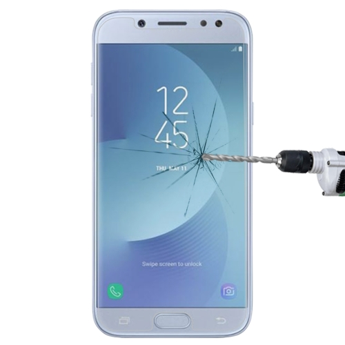 1 PCS For Galaxy J5 (2017) (EU Version) 0.26mm 9H Surface Hardness 2.5D Explosion-proof Non-full Screen Tempered Glass Screen Film