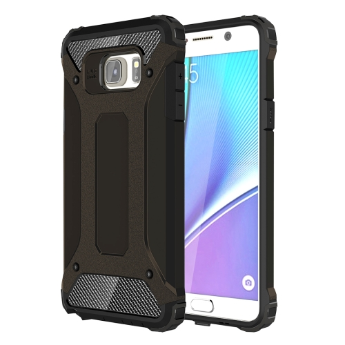 For Galaxy Note 5 / N920 Tough Armor TPU + PC Combination Case(Black)