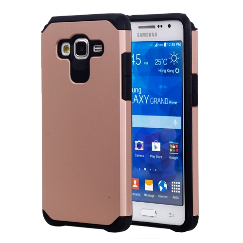 Buy For Samsung Galaxy Grand Prime / G530 Corselet TPU + PC Combination Protective Case (Rose Gold) for $2.17 in SUNSKY store