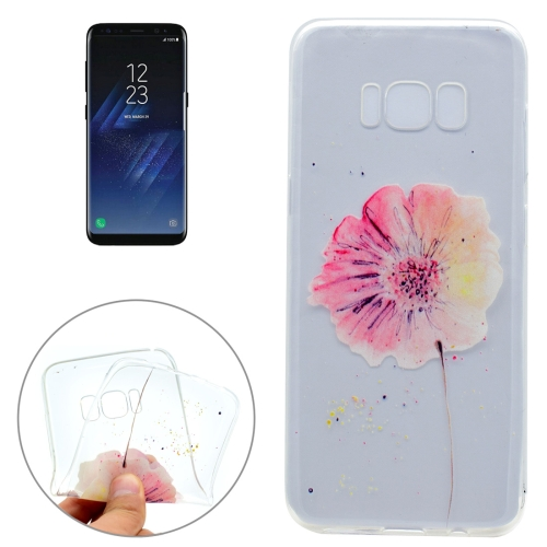 Buy For Samsung Galaxy S8 + / G955 Flower Pattern IMD Workmanship Soft TPU Protective Case for $1.22 in SUNSKY store