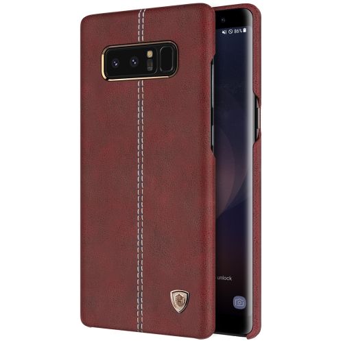 Buy NILLKIN Englon Case for Samsung Galaxy Note 8 Business Style Crazy Horse Leather Surface Protective Case, Brown for $6.36 in SUNSKY store