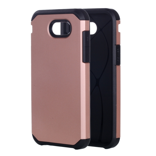 Buy For Samsung Galaxy J3, 2017 / J327 (US Version) Corselet TPU + PC Combination Protective Case (Rose Gold) for $2.19 in SUNSKY store