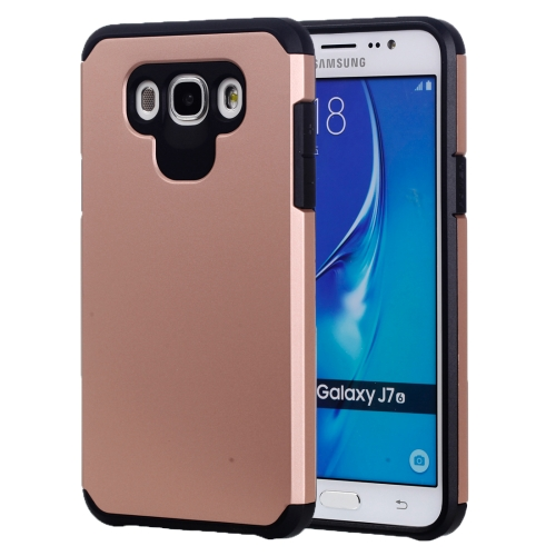 Buy For Samsung Galaxy J7, 2016 / J710 Corselet TPU + PC Combination Back Case (Rose Gold) for $2.07 in SUNSKY store
