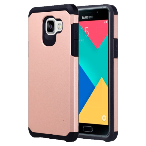 Buy For Samsung Galaxy A5, 2016 / A510 Corselet TPU + PC Combination Back Case (Rose Gold) for $2.07 in SUNSKY store