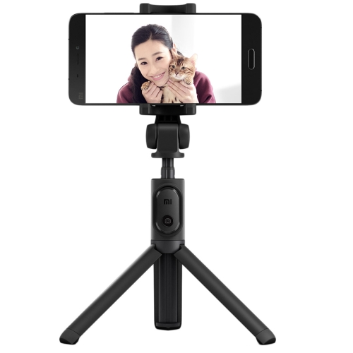 Original Xiaomi Mi Selfie Stick Tripod Folding Extendable Bluetooth Monopod Holder, For iPhone, Galaxy, Huawei, Xiaomi, HTC, Sony, Google and other Smartphones of Android or iOS(Black)