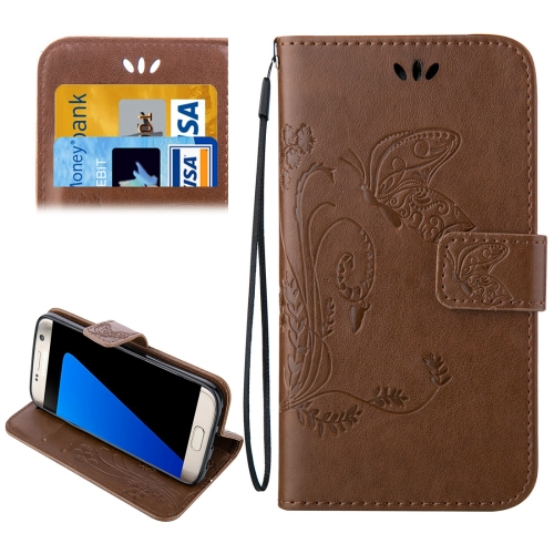 Buy For Samsung Galaxy S7 Edge / G935 Crazy Horse Texture Printing Horizontal Flip Leather Case with Holder & Card Slots & Wallet & Lanyard, Brown for $2.44 in SUNSKY store