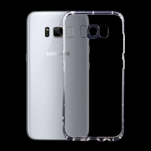 For Galaxy S8 Transparent TPU Protective Case (Transparent)