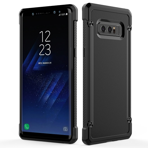 Buy For Samsung Galaxy Note 8 PC+TPU Beetle Protective Back Cover Case (All Black) for $2.14 in SUNSKY store
