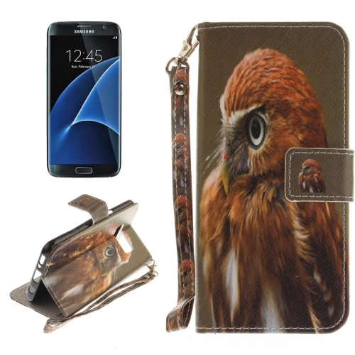 Buy For Samsung Galaxy S8 + / G955 Eagle Pattern Horizontal Flip Leather Case with Holder & Card Slots & Wallet & Lanyard for $2.53 in SUNSKY store