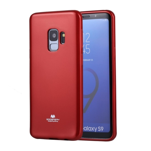 Buy MERCURY GOOSPERY PEARL JELLY Series for Samsung Galaxy S9 TPU Full Coverage Protective Back Cover Case, Red for $2.67 in SUNSKY store