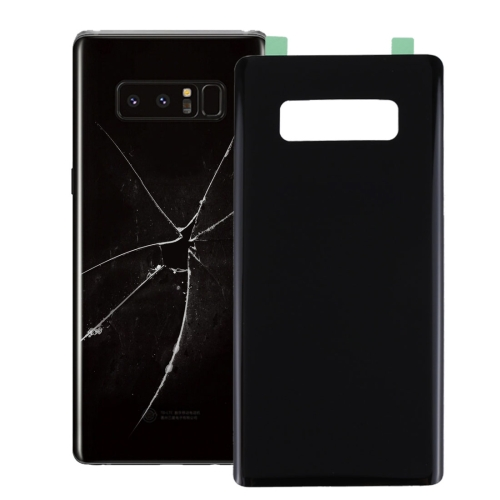 Battery Back Cover with Adhesive for Galaxy Note 8 (Black)