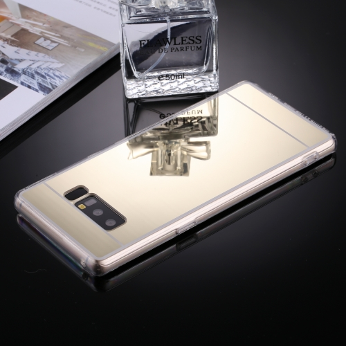 Buy For Samsung Galaxy Note 8 Acrylic + TPU Electroplating Mirror Protective Back Cover Case, Gold for $1.19 in SUNSKY store