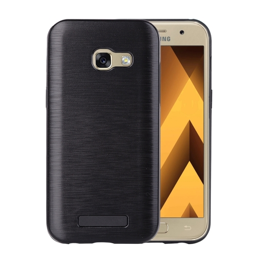 Buy For Samsung Galaxy A3, 2017 Metal Brushed Texture Protective Back Case, Black for $2.16 in SUNSKY store